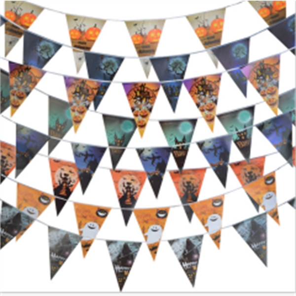 Halloween Flags Pennant