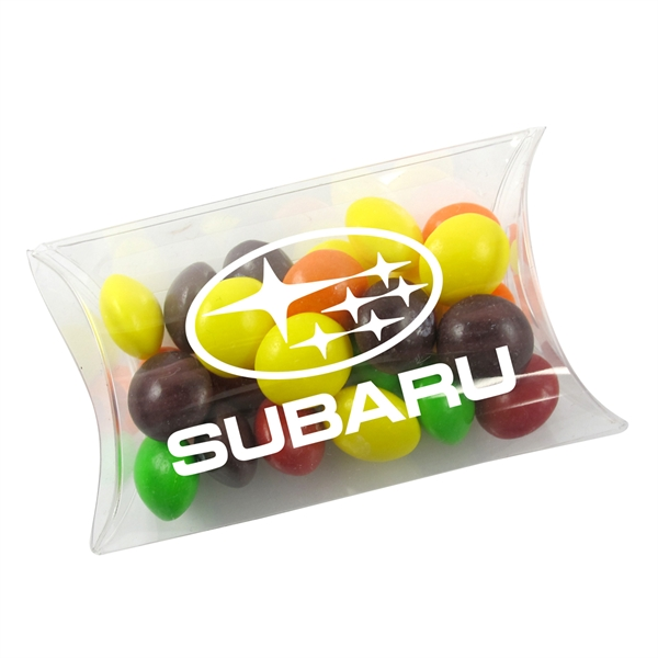 Small Pillow Acetate Box with Skittles (R) Candies