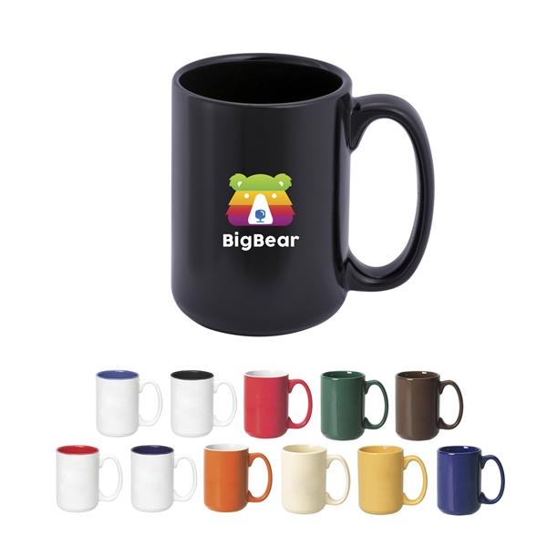 Full Color Decal Transfer 15 oz El Grande mugs