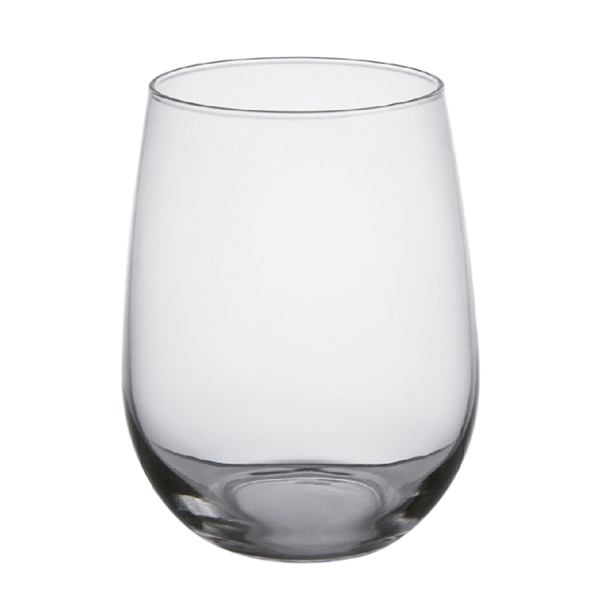 Full Color Decal Transfer 17 oz. Stemless Wine Glass