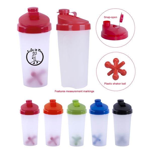 Shaker Bottle 23.5 oz.