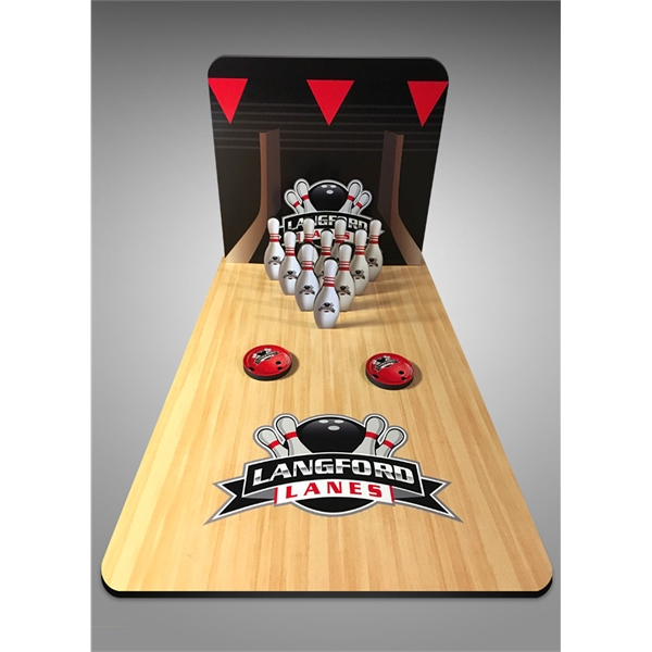 """Table Top Bowling Game (18"""" deep/long x 12"""" wide)"""