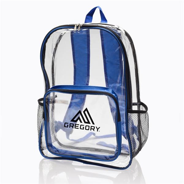 Pocket Clear Plastic Backpacks