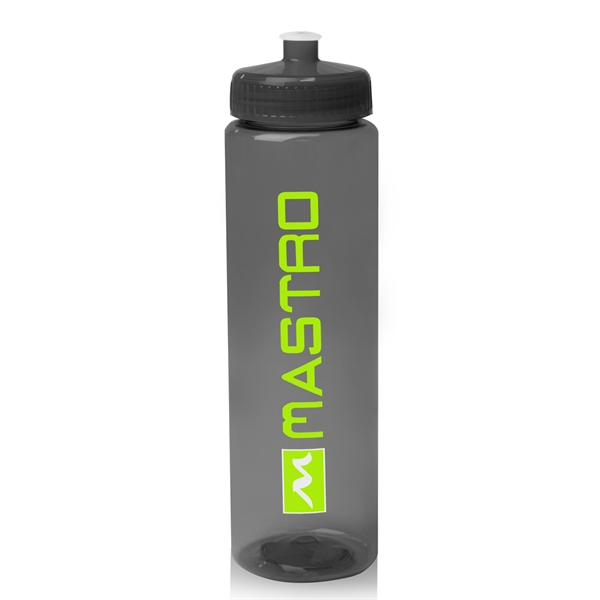 32 oz Poly-Clear Plastic Water Bottle