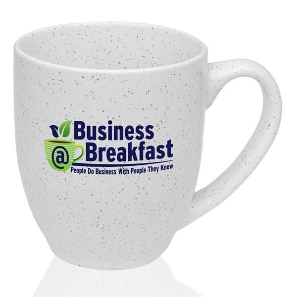 16 oz. Speckle Bistro Ceramic Mugs