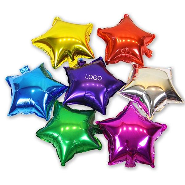 18'' Star Shape Aluminum Foil Balloon
