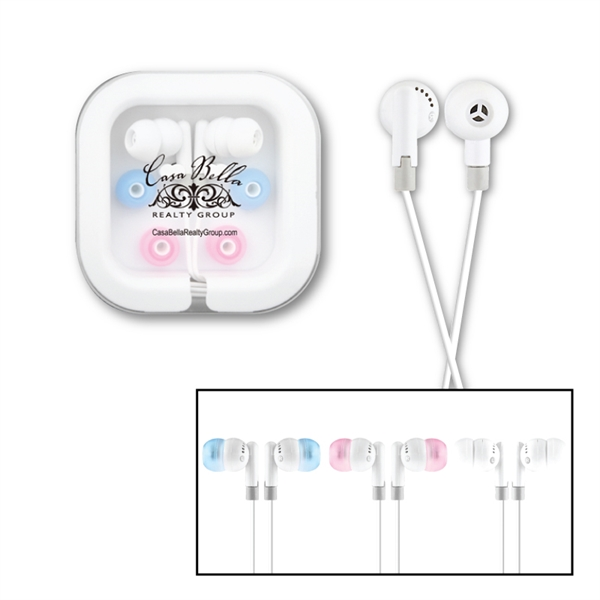 Spectre Ear Buds in Plastic Case