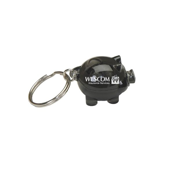 Clearance Item! Acrylic Mini-Pig Keyring