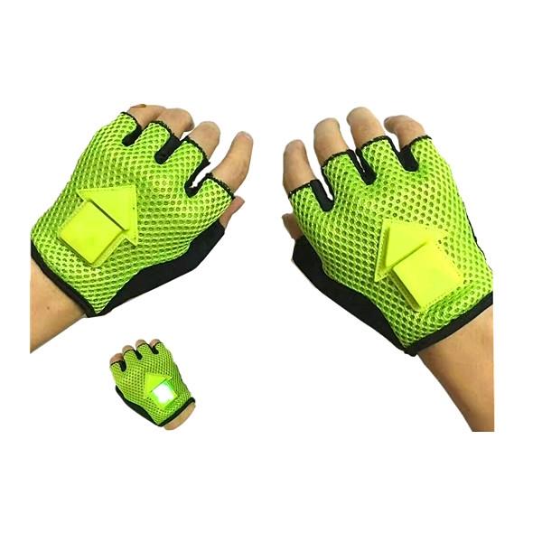 LED Direction Safty Gloves
