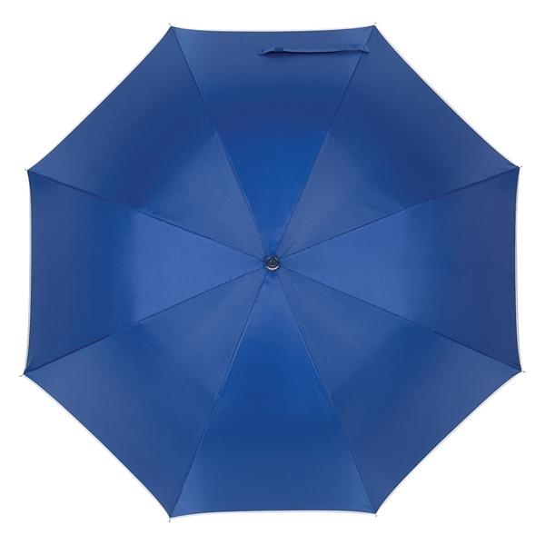 "48"" Arc Silver Accent Umbrella"