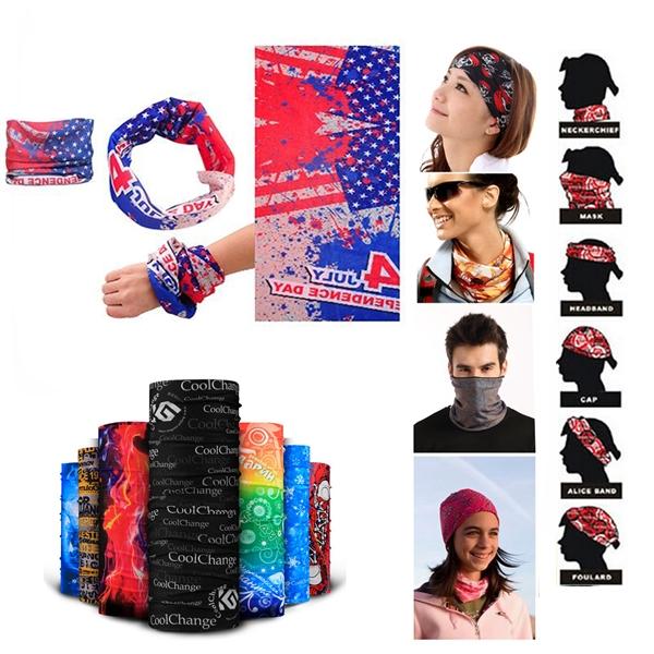 Fashion Seamless Style Bandanna Headwear Magic Scarf Wrap
