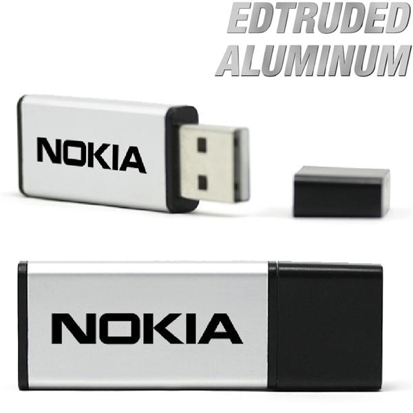 Sumter - Extruded aluminum USB flash dri