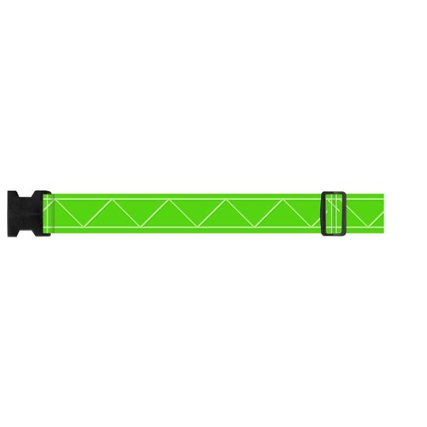 """Flexbelt (TM) - Reflective belt. 54"""" long."""