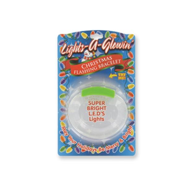 Light Up Bracelet - Christmas - Flashing LED