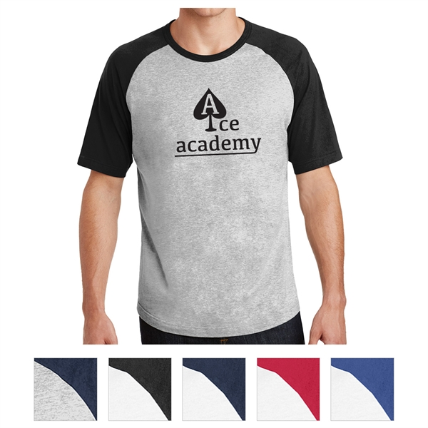 Sport-Tek Short Sleeve Colorblock Raglan Jersey
