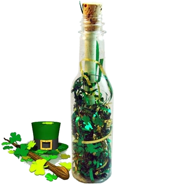 St. Patrick's Message in a Bottle