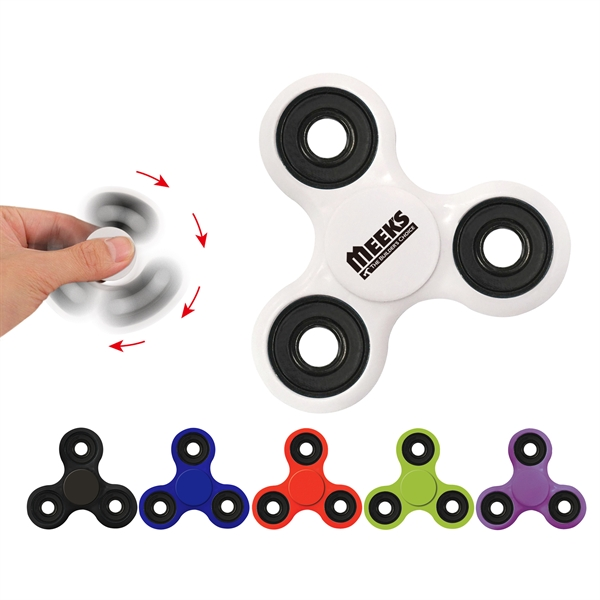 Solid Fidget Spinner Stress Reliever