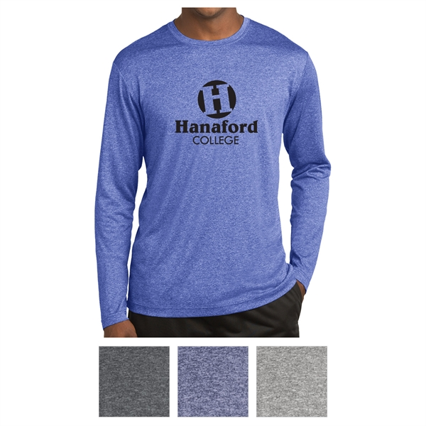 Sport-Tek Long Sleeve Heather Contender Tee