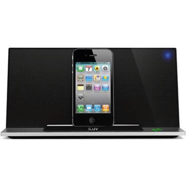 iLuv-AUDIO SYSTEMS iPhone / iPod stereo speaker dock-Black