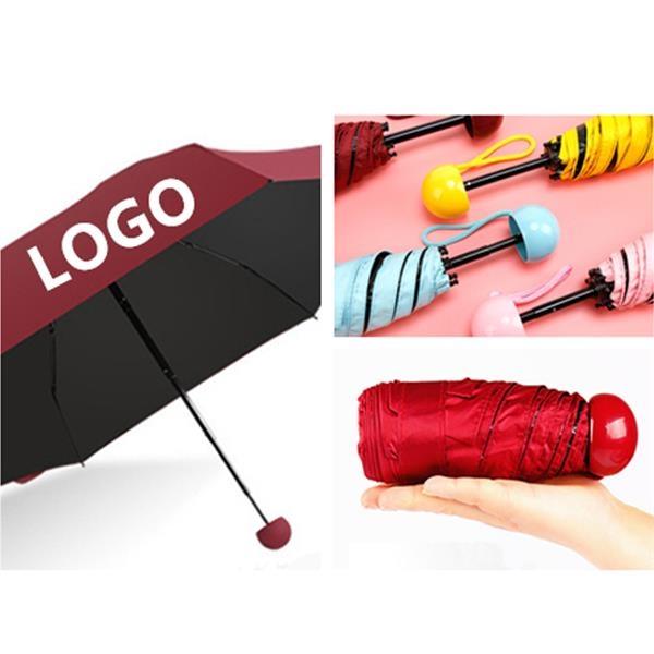 Capsule Foldable Sun-Rain Umbrella