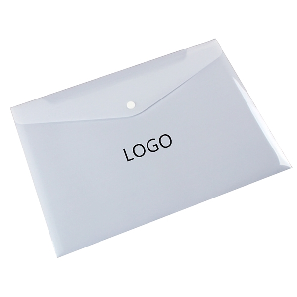 Paper Storage Document Folder Pouch with Snap Button