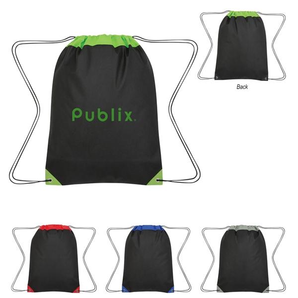 Non-Woven Roanoke Drawstring Bag