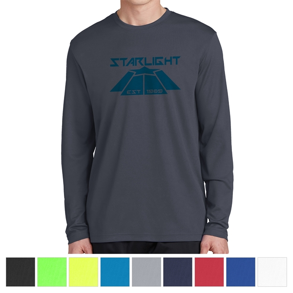 Sport-Tek Men's PosiCharge RacerMesh Long Sleeve Tee