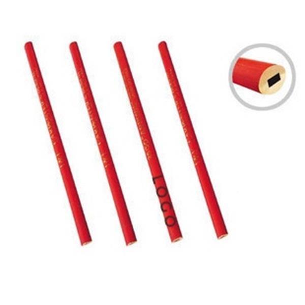 "7"" Wooden Carpenter Pencil"
