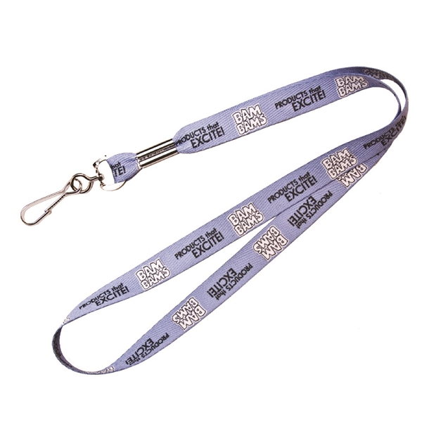 "Lanyard 36"" x 1/2"" Standard Polyester Dye Sublimated"