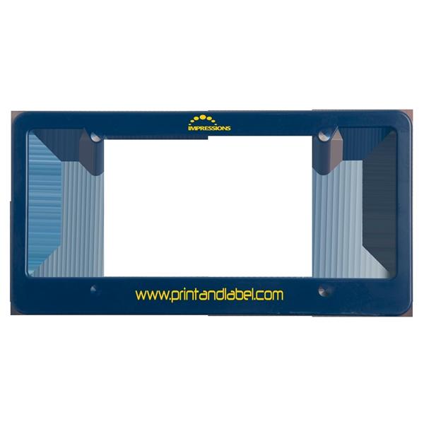 License Plate Frame (4 Holes - Straight Bottom)