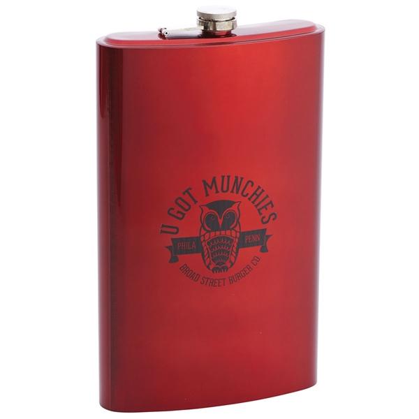 64oz Jumbo Stainless Steel Flask