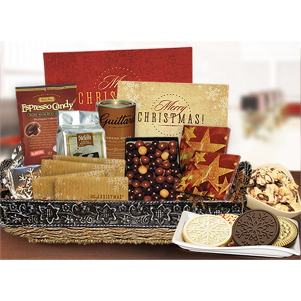 Merry Christmas Gift Basket
