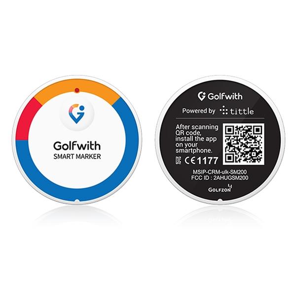Smart Marker - GPS Golf Tracker & Ball Marker - Retail