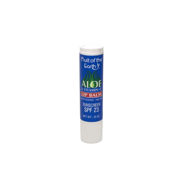 Fruit of the Earth Lip Balm with SPF 23 Sunscreen