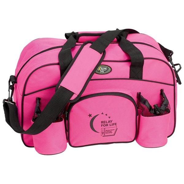 Pink 18in. Sport Duffle Bag