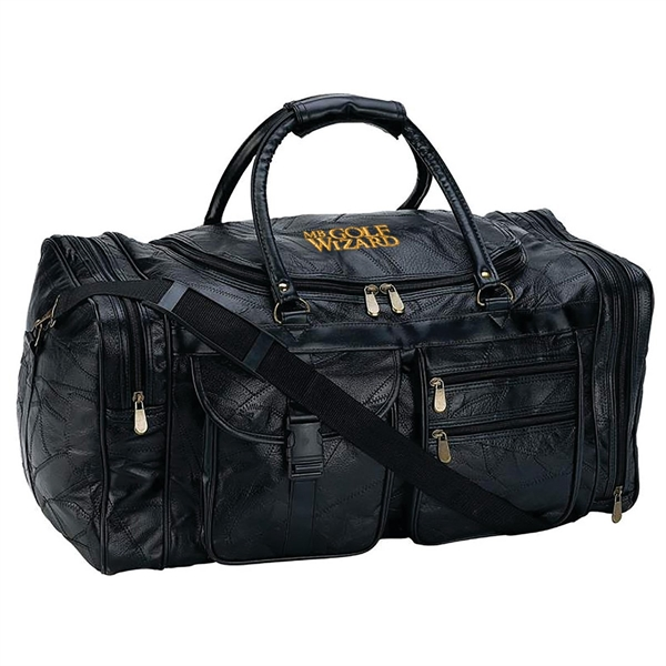 Genuine Leather 25in. Tote Bag