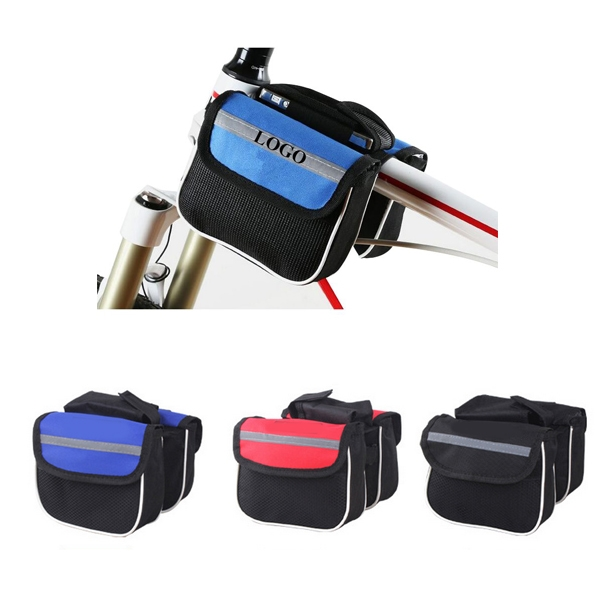 Bicycle Front Top Tube Pannier Bag