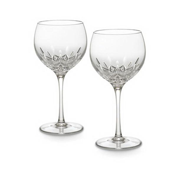 Waterford Lismore Essence Balloon Wine (pair)