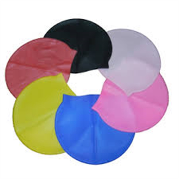 Adults Elastic Silicone Swim Cap