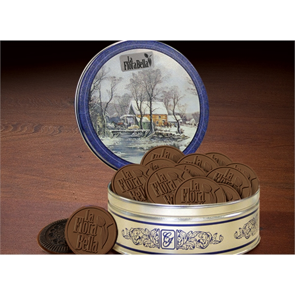 12 Pack Currier & Ives Cookie Tin