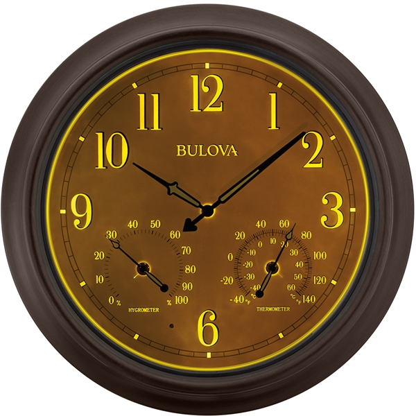 Bulova Weather Master Wall Clock