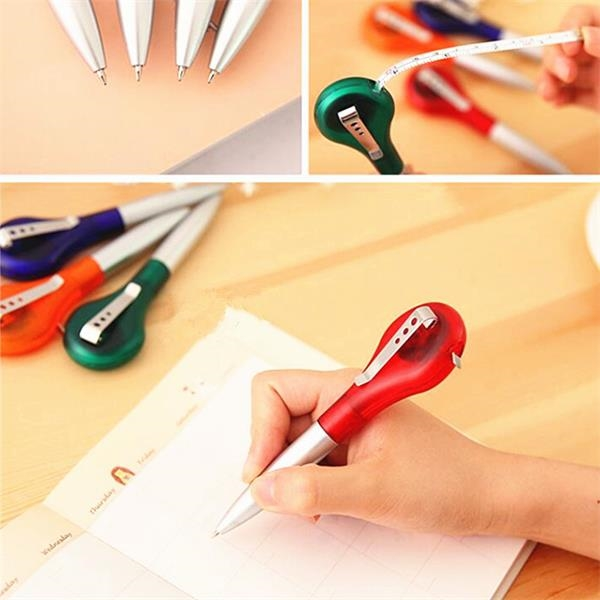 Pen with Measuring Tape