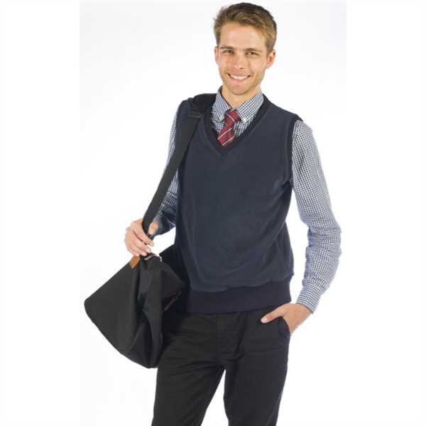 Men's Soft Microfleece Pullover Vest