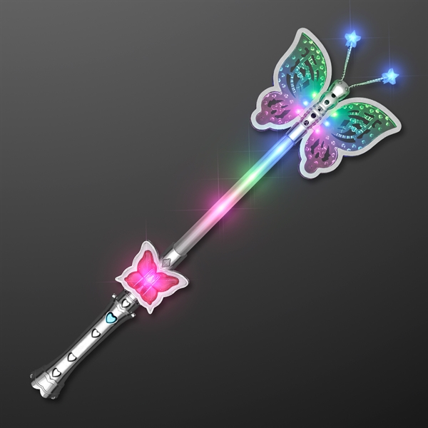 Light up pretty butterfly wand for Light up wand