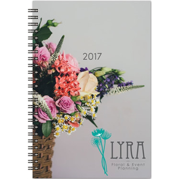Flex Planner - Medium 2-Piece Full-Color Monthly Calendar