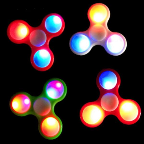 Light UP Fidget Hand Spinner