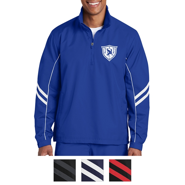 Sport-Tek Shield Ripstop 1/2-Zip Pullover