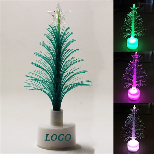 LED Fiber Optic Christmas Tree