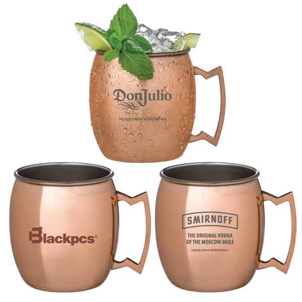 Annapurna Copper Plated Moscow Mule Mug