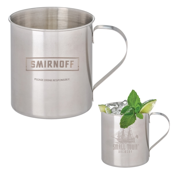 Tibacha Stainless Steel Moscow Mule Mug